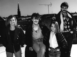 80erne: Der er lige et par ting. F.v.: Iben Plesner, Ivar Lind Greiner, Gitte Naur, Ole Rasmus Møller